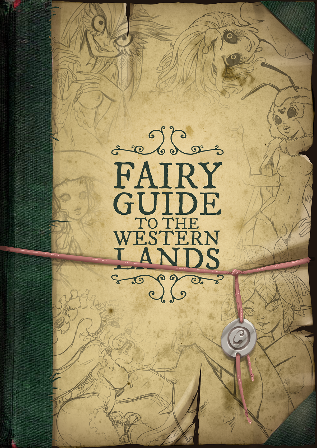 Fairy Guide to the Western Lands is out!